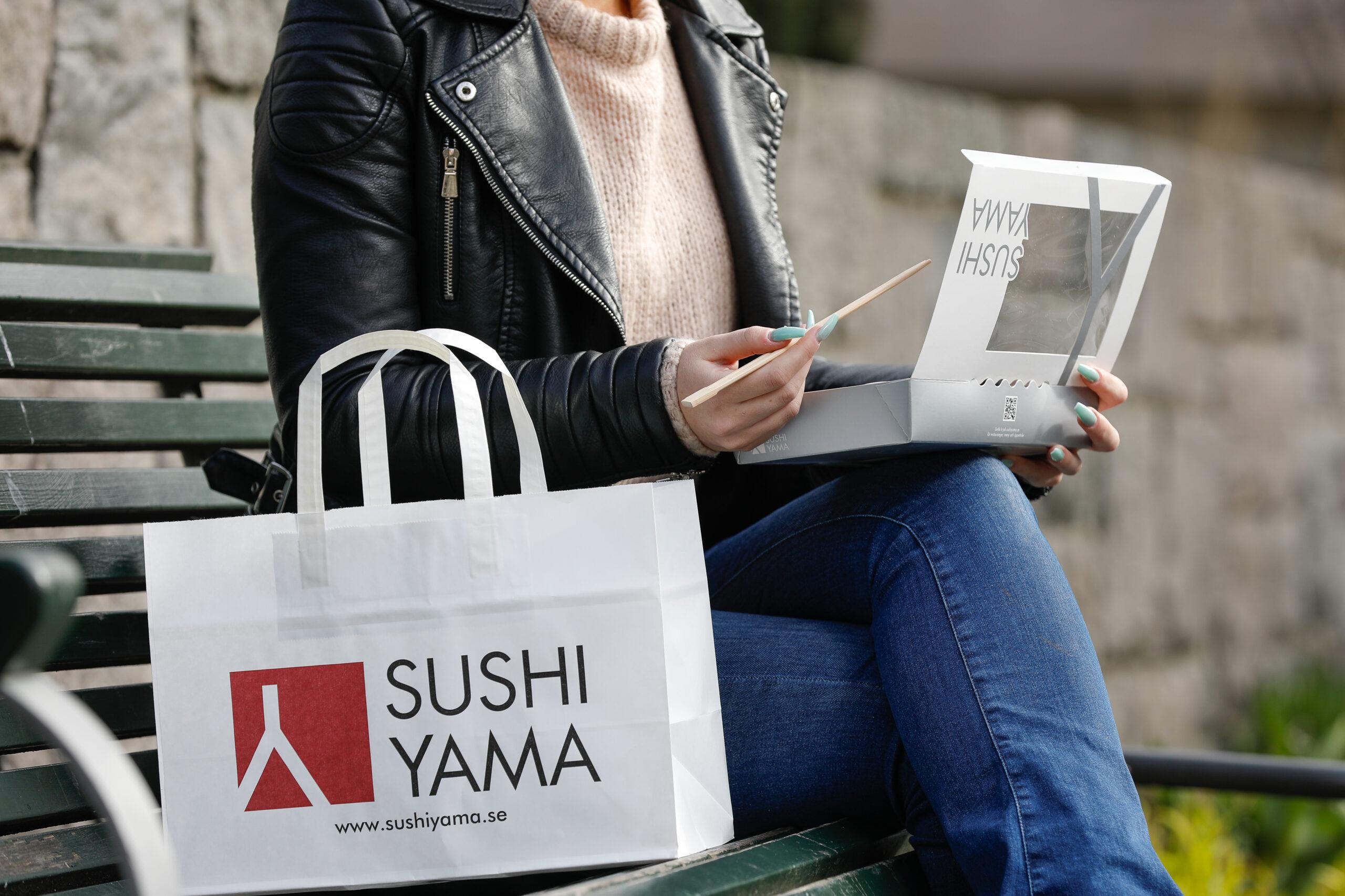 Sushi för både människa och miljö